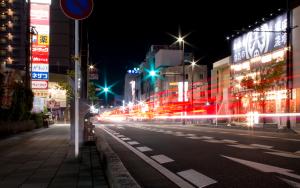 霧島市街夜景