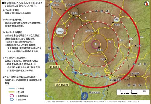 新燃岳噴火に関する影響について